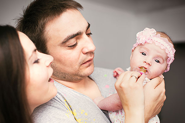 A heterosexual couple interested in surrogacy   Stephanie and Robert were recommended to our clinic via their surrogacy agency COTS