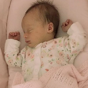 IVF works – Beautiful Mollie arrived safe and sound